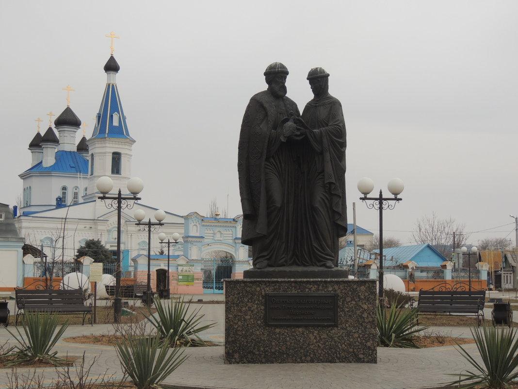 Сквер Семьи, любви и верности - Евгения Чередниченко