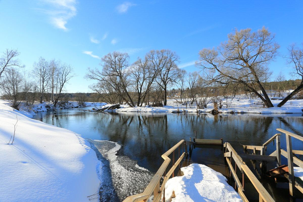 Весна на реке - ninell nikitina