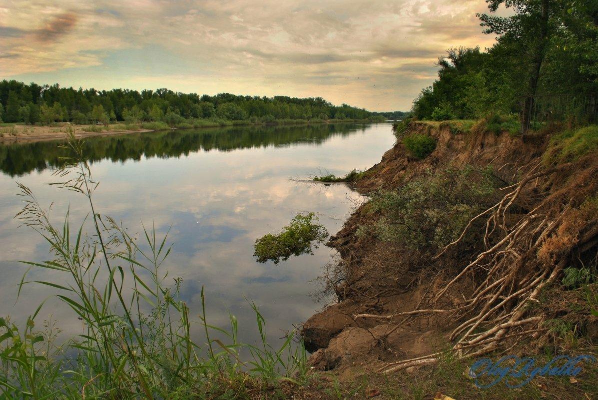 Река Ахтуба - Олег Рыбалко