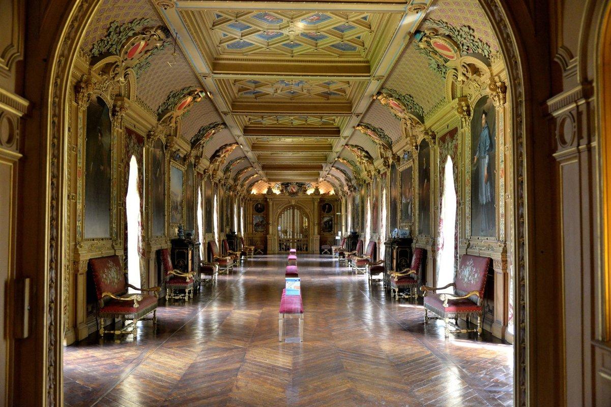 """коридор"" замка Мадама де Мэнтенон (Madame de Maintenon) - Георгий"