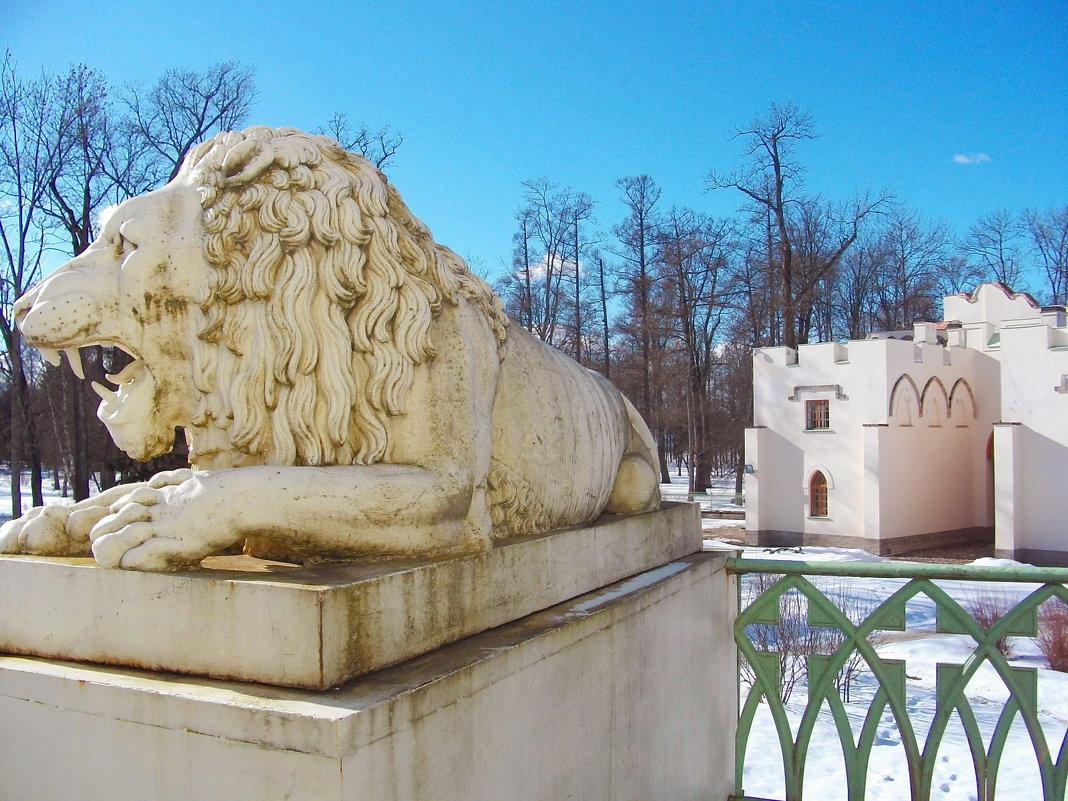 Один из львов Белой башни. - Лия ☼
