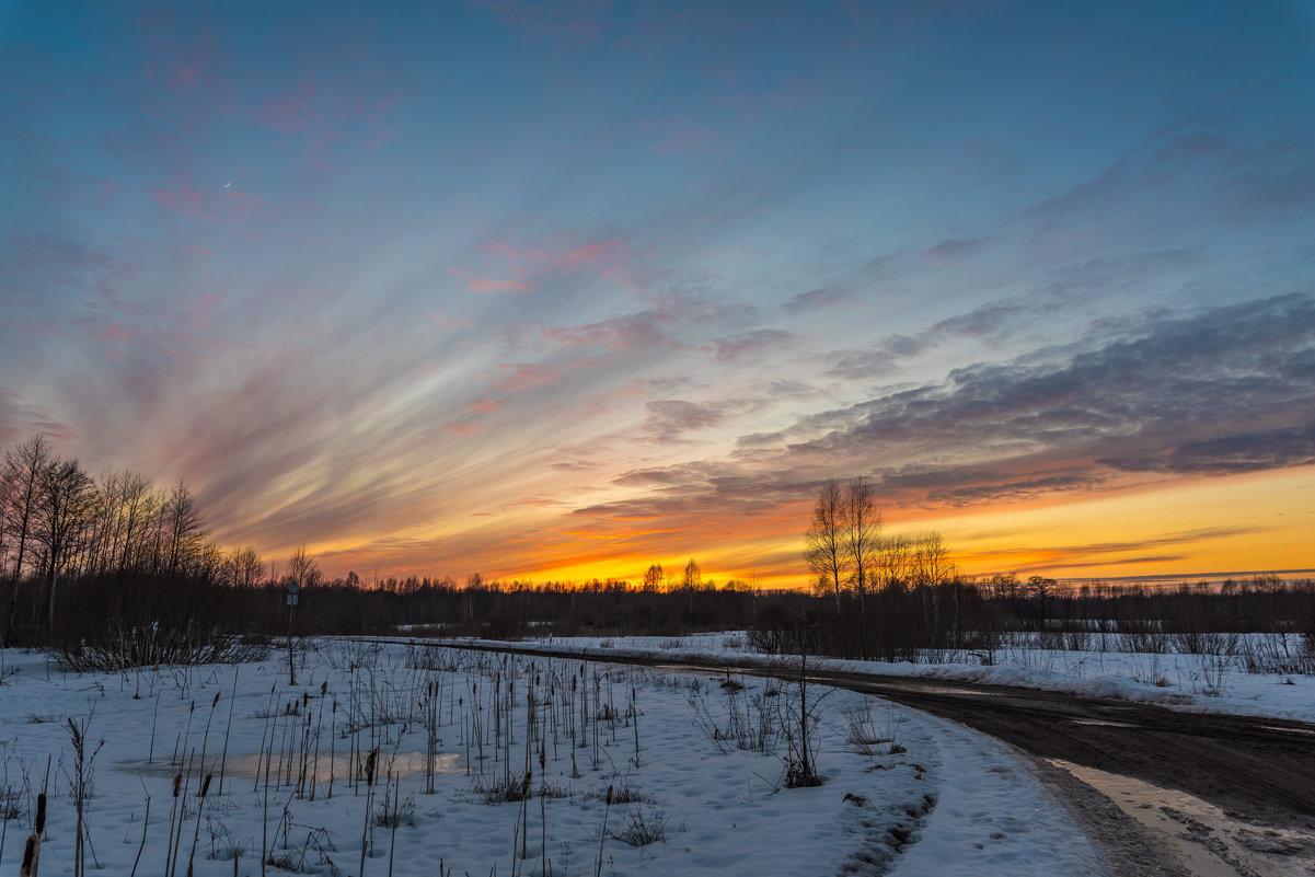 Деревня, закат - Pavel Shardyko