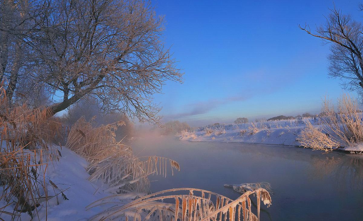 морозное утро.. - Геннадий ,