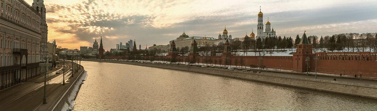 Панорама Московский кремль 25 марта 2018 - Дмитрий Лаудин
