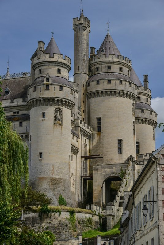 башни замка Пьерфон - Георгий А
