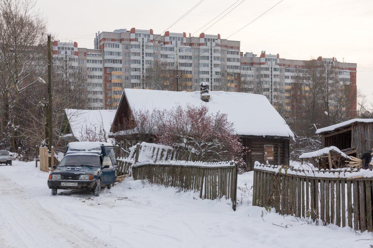 Городские контрасты - Татьяна Копосова