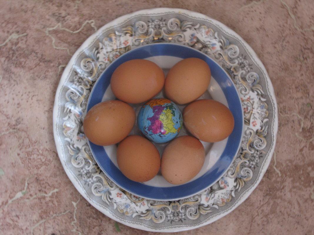 Скоро Пасха. Земной шар превратится в пасхальное яйцо... - Алекс Аро Аро