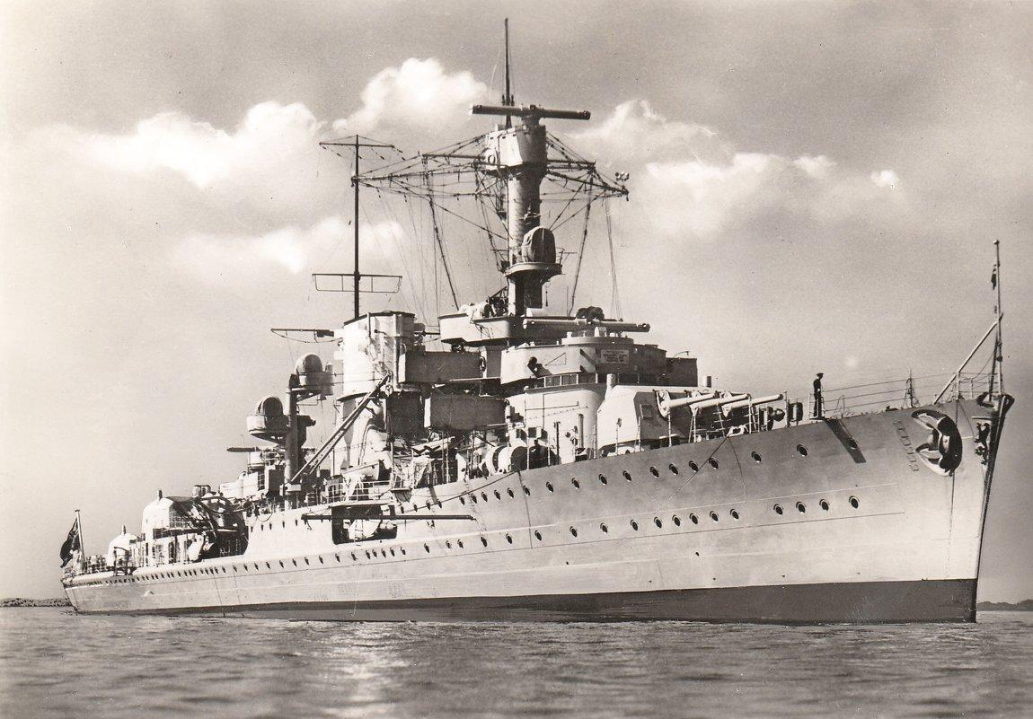 "The German light cruiser ""Leipzig"". - Александр"