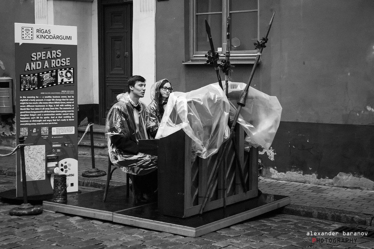 Музыка под дождем - Александр Баранов