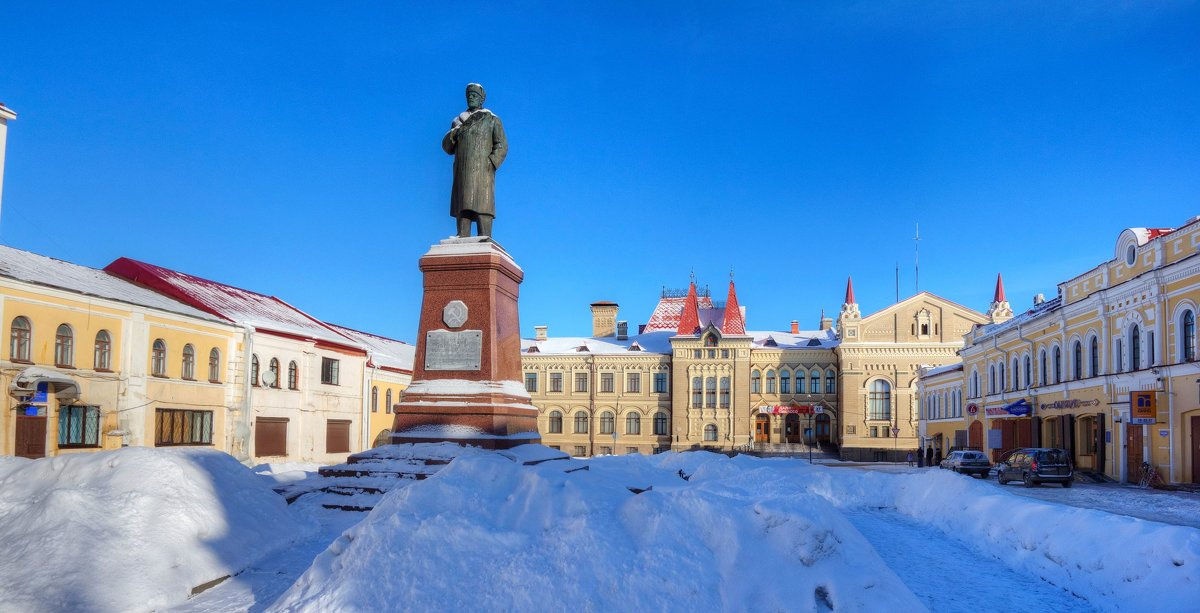 Замерзший Ильич - Константин