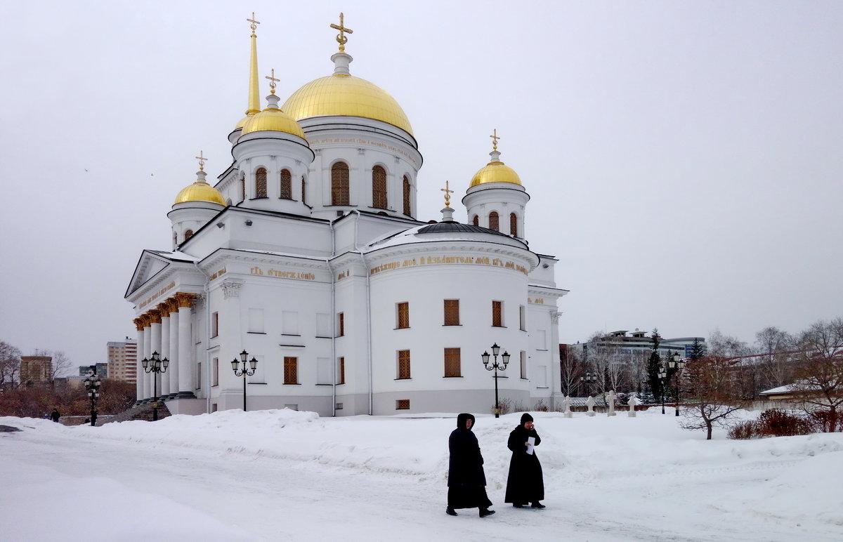 Александро-Невский Ново-Тихвинский женский монастырь. - Пётр Сесекин