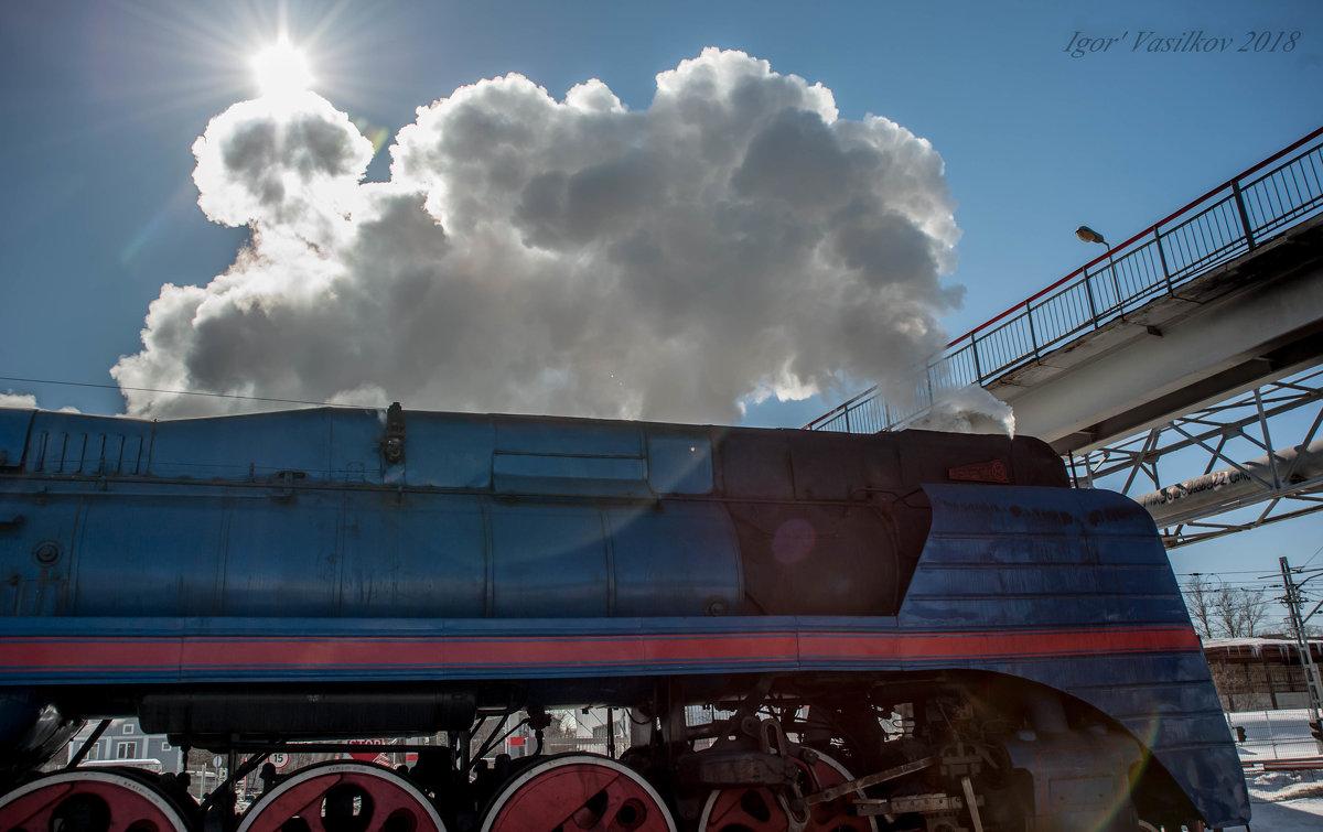 Передвижная фабрика по производству облаков - 30e30 (Игорь) Васильков