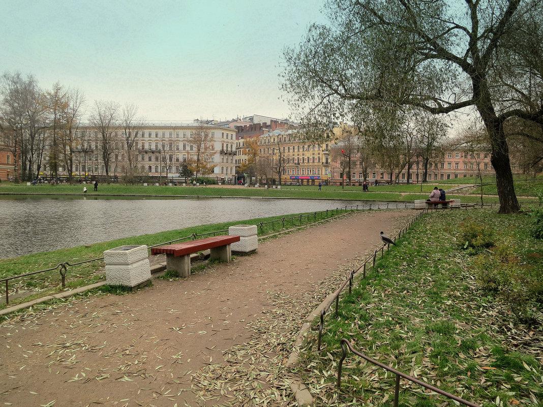 Юсуповский сад. - Валентина Жукова