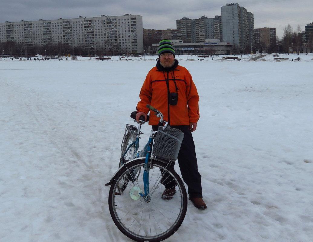 """Мой 1-й выезд на """"железном коне"""" в этом году - Андрей Лукьянов"""