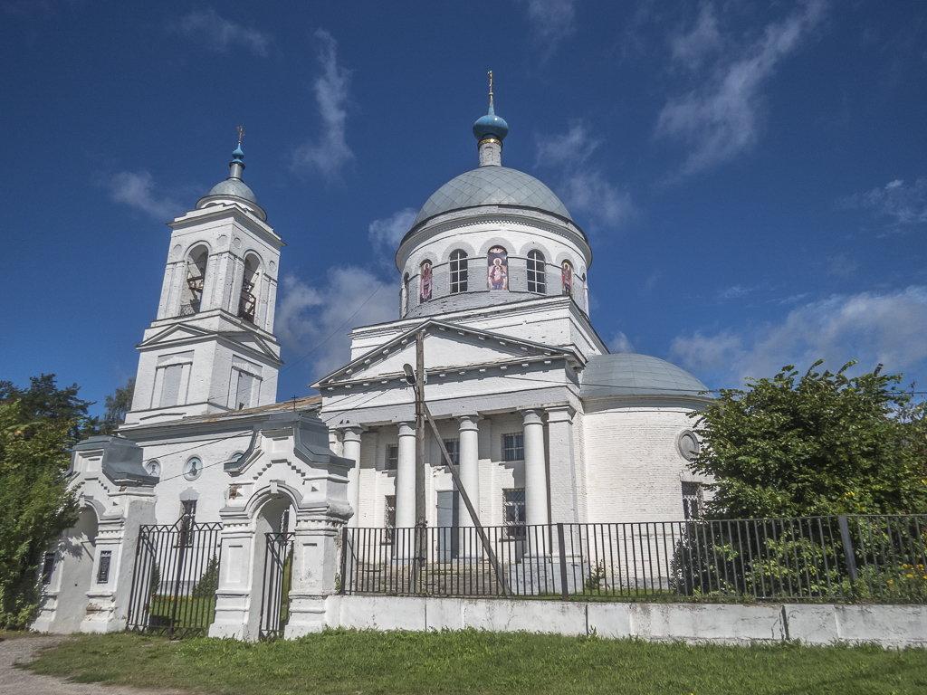 Сельский храм - Сергей Цветков