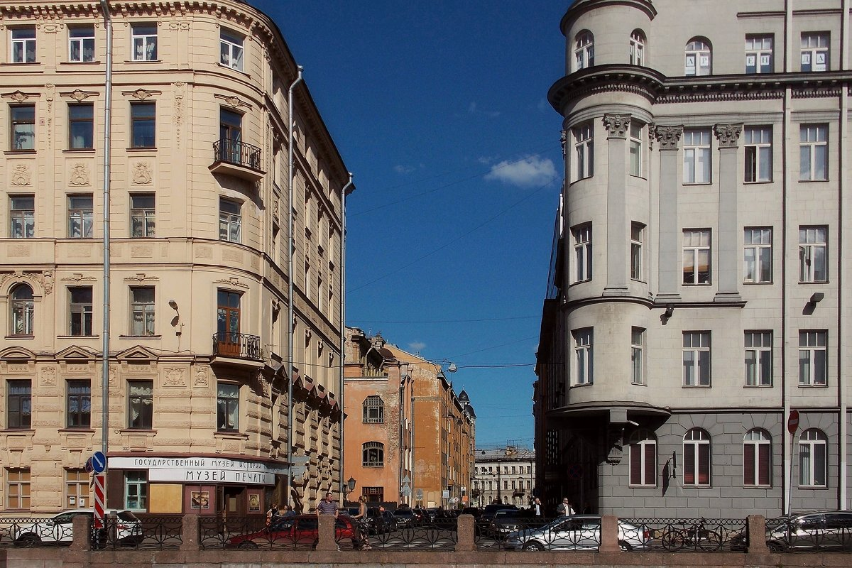 Архитектура Санкт-Петербурга. Волынский переулок - Фотогруппа Весна.