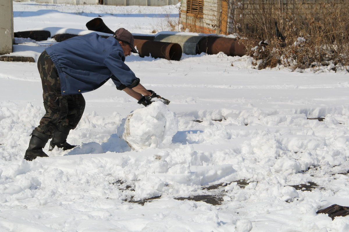 Рождение Снеговика ... - JT --------      SHULGA  Alexei