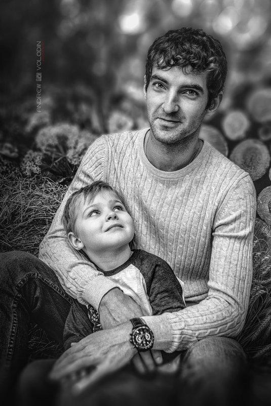 Отец всегда будет авторитетом для своего сына) - Андрей Володин