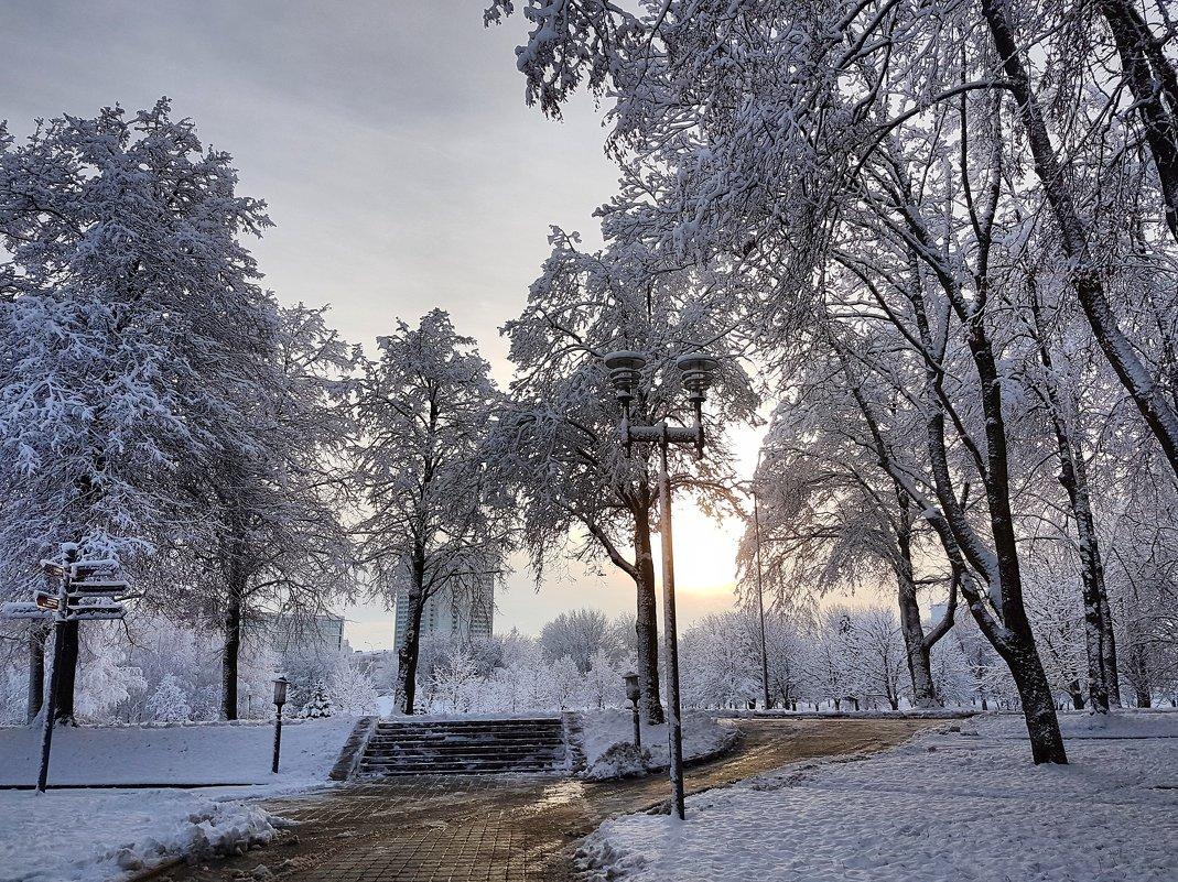 Зима - Ольга Милованова