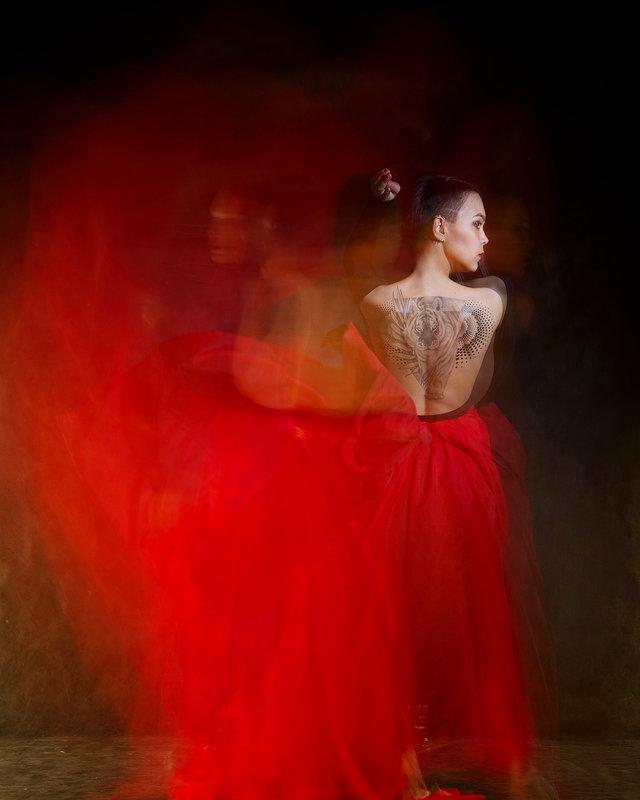 Рисунок светом. - Iuliia Beliaeva