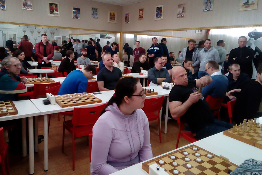 Окружные соревнования по шашкам в рамках Спартакиады «Спорт для всех» - Центр Юность