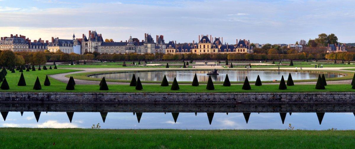 замок Фонтэнбло (chateau de Fontainebleau) - Георгий
