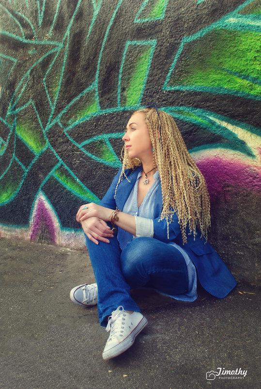Граффити и denim - Елена
