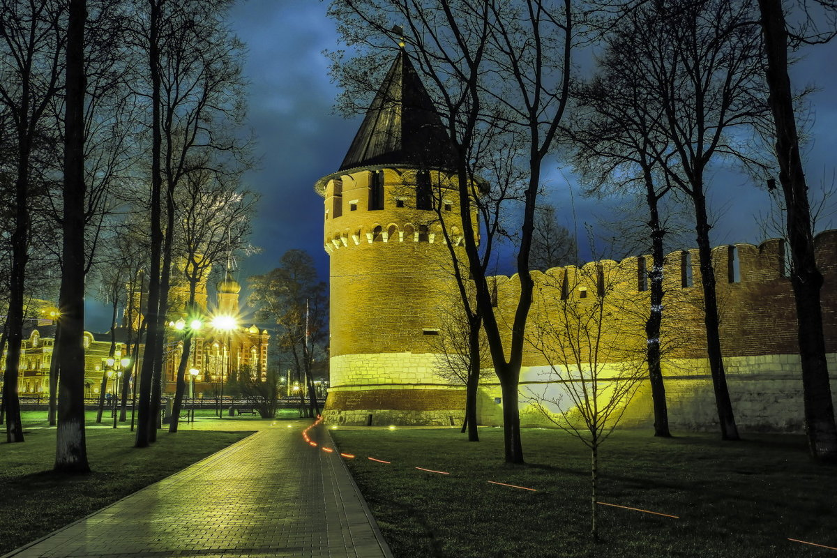 одна из башней Тульского кремля - Георгий