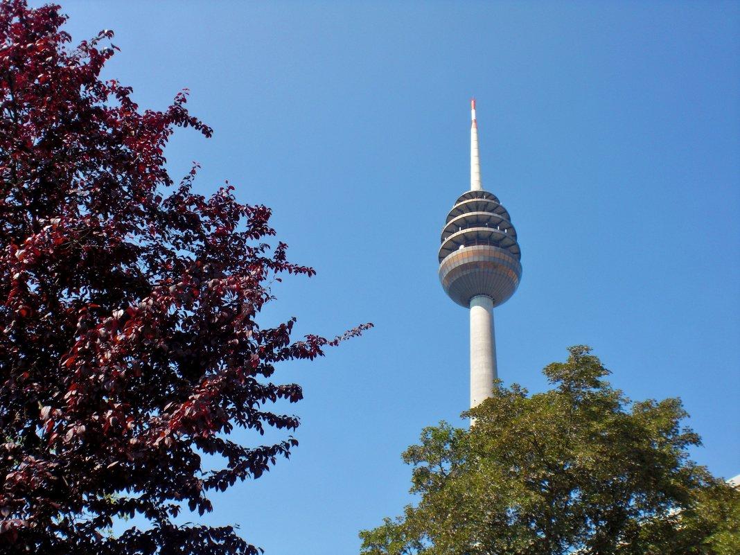 Нюрнбергская телевизионная башня является самым высоким сооружением в Баварии. - backareva.irina Бакарева