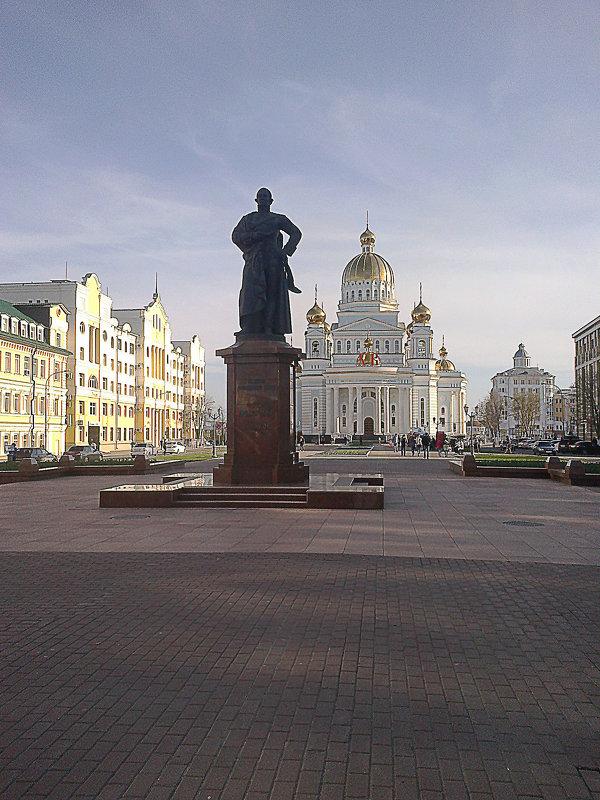 памятник и собор - Юлия Денискина