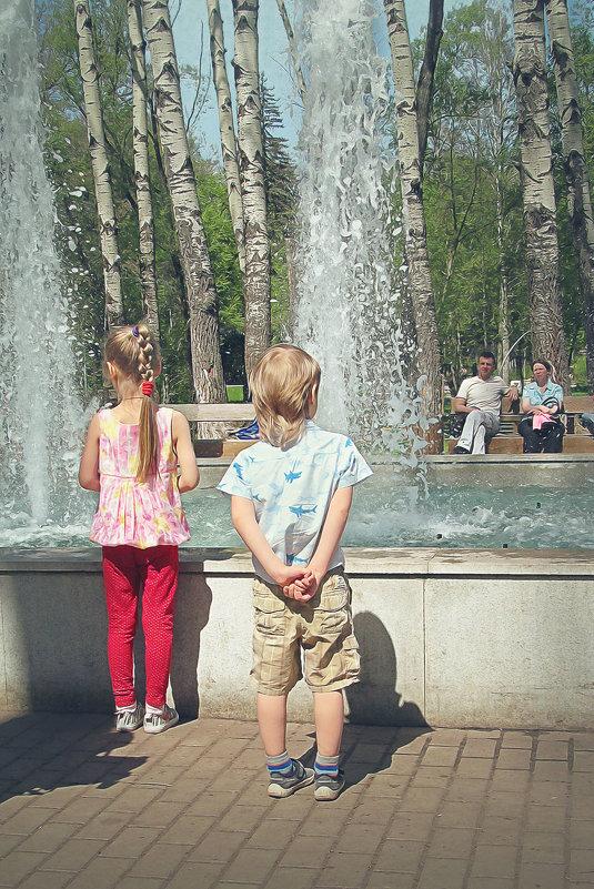 магия фонтана - Лера