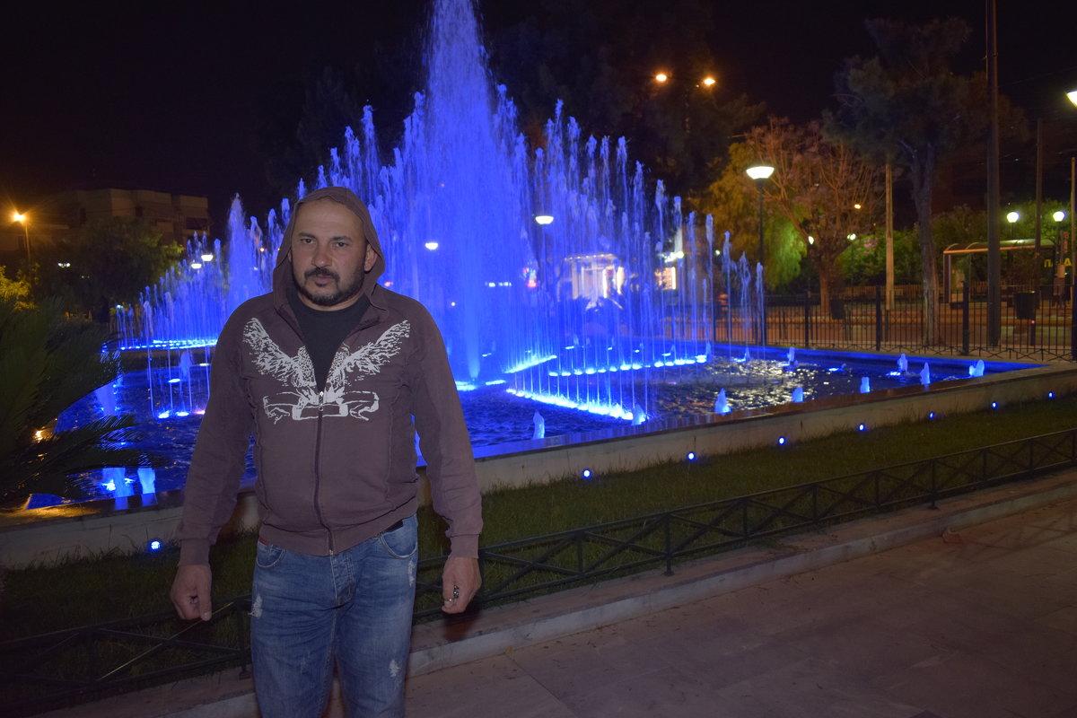 Парк с фантаном - Ариэль Volodkova