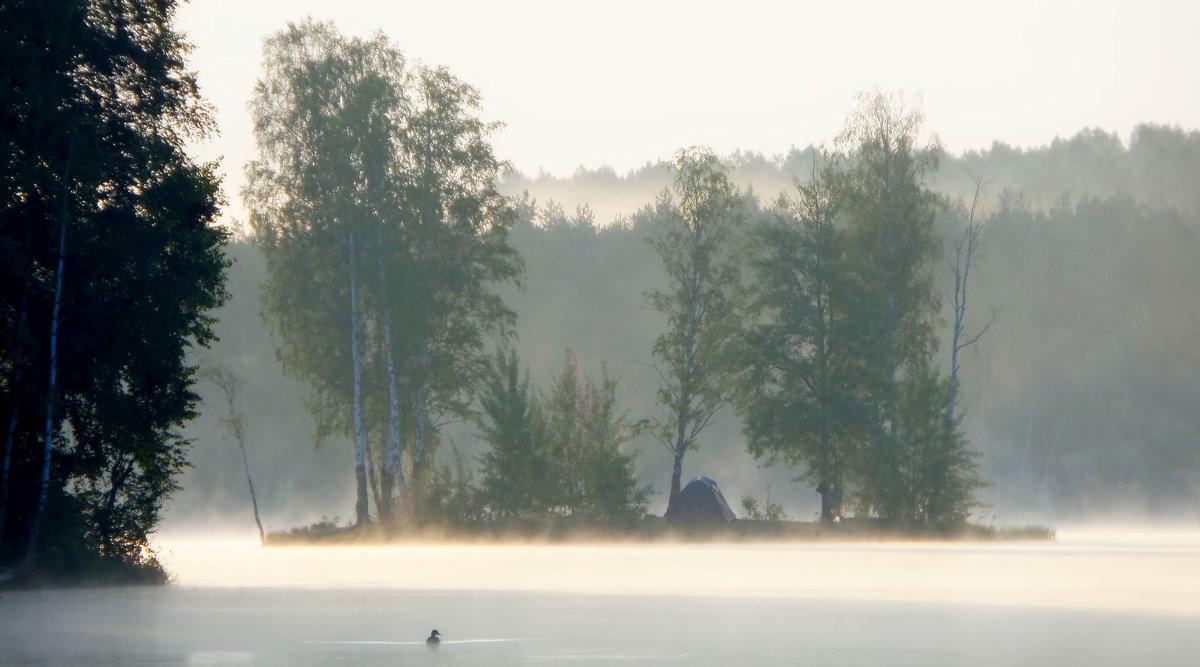 В тумане утреннем... - Юрий Цыплятников