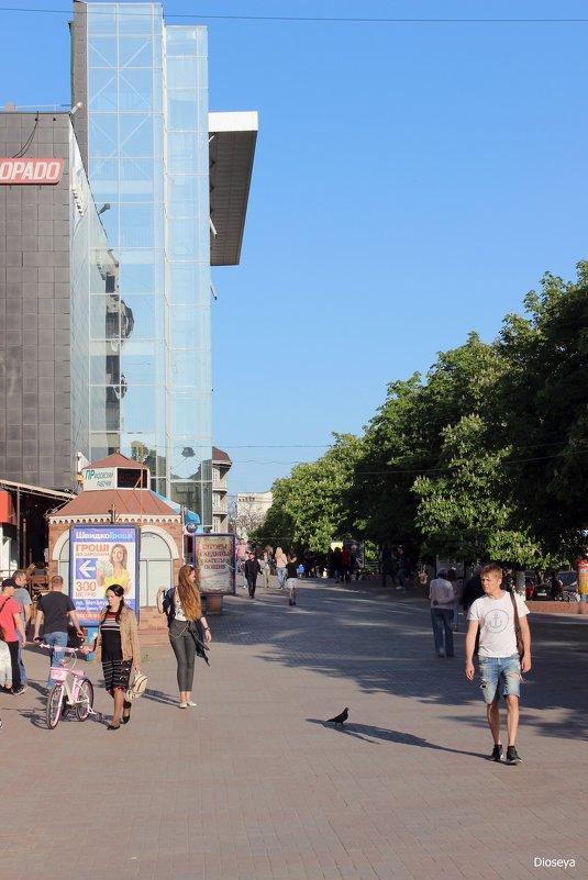 В центре г.Мариуполя - Татьяна Пальчикова