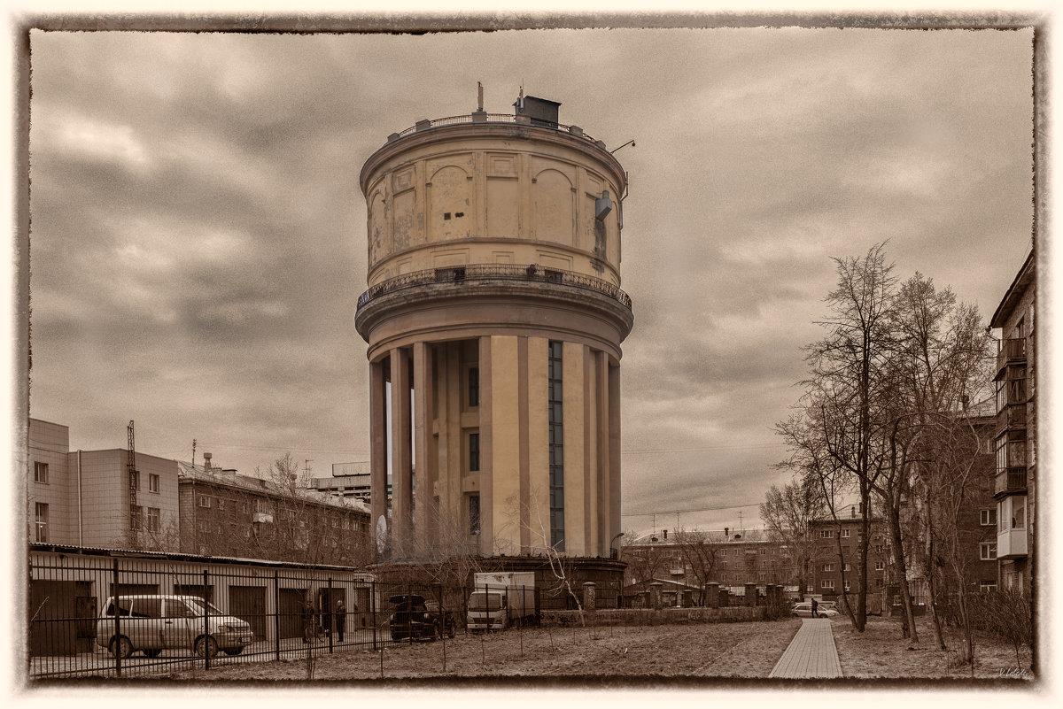 водонапорная башня - cfysx