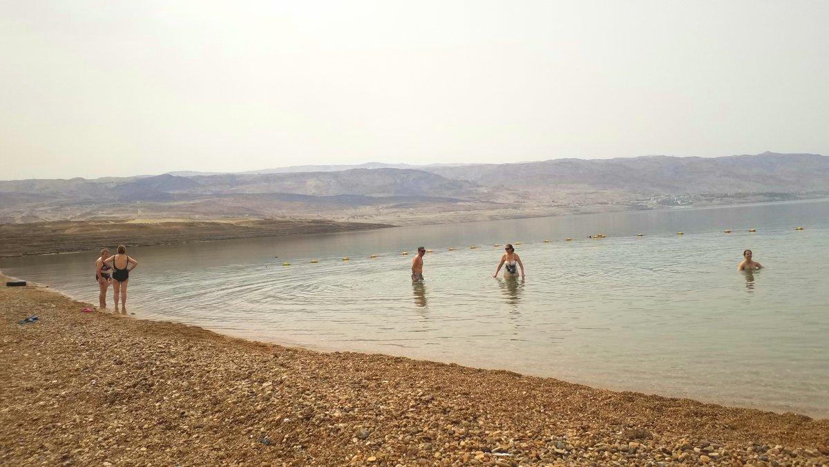 Мертвое море.Первые купальщики. - Жанна Викторовна