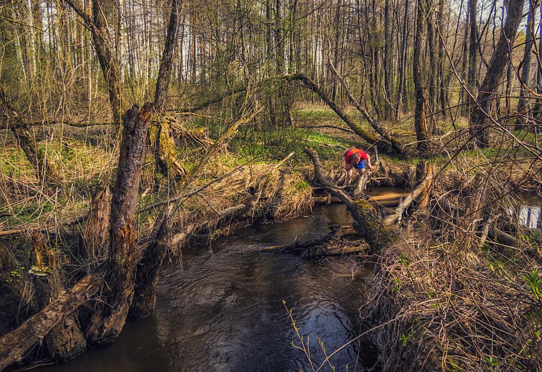 У лесной речки - Сергей Цветков