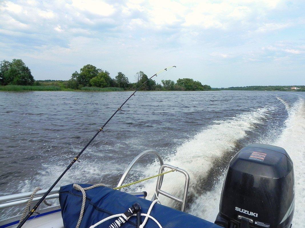 На рыбалку.... - Aleksandr