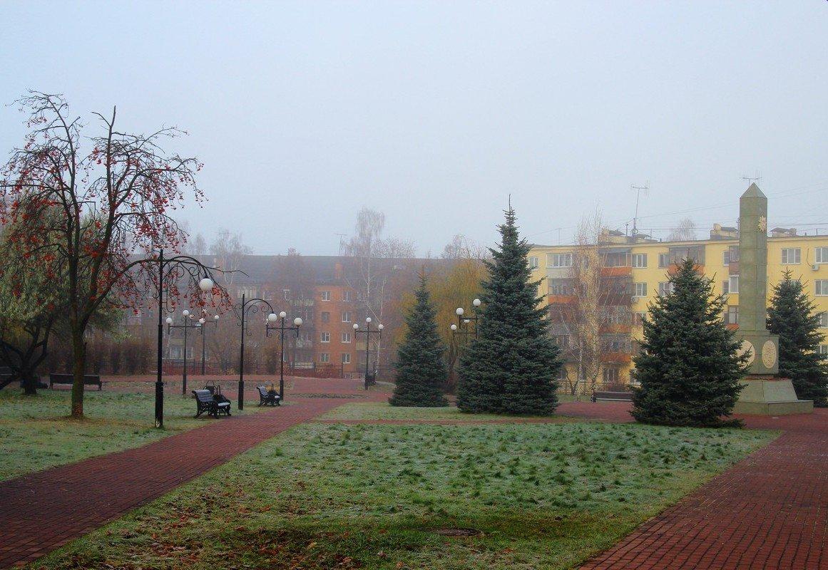 Туманное утро. - Инна Щелокова