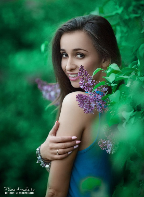 В сиреневом саду - Александр Photo-Sasha.ru