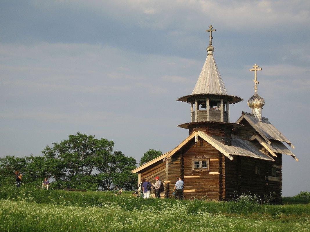 Кижи, часовня Михаила Архангела - ZNatasha -