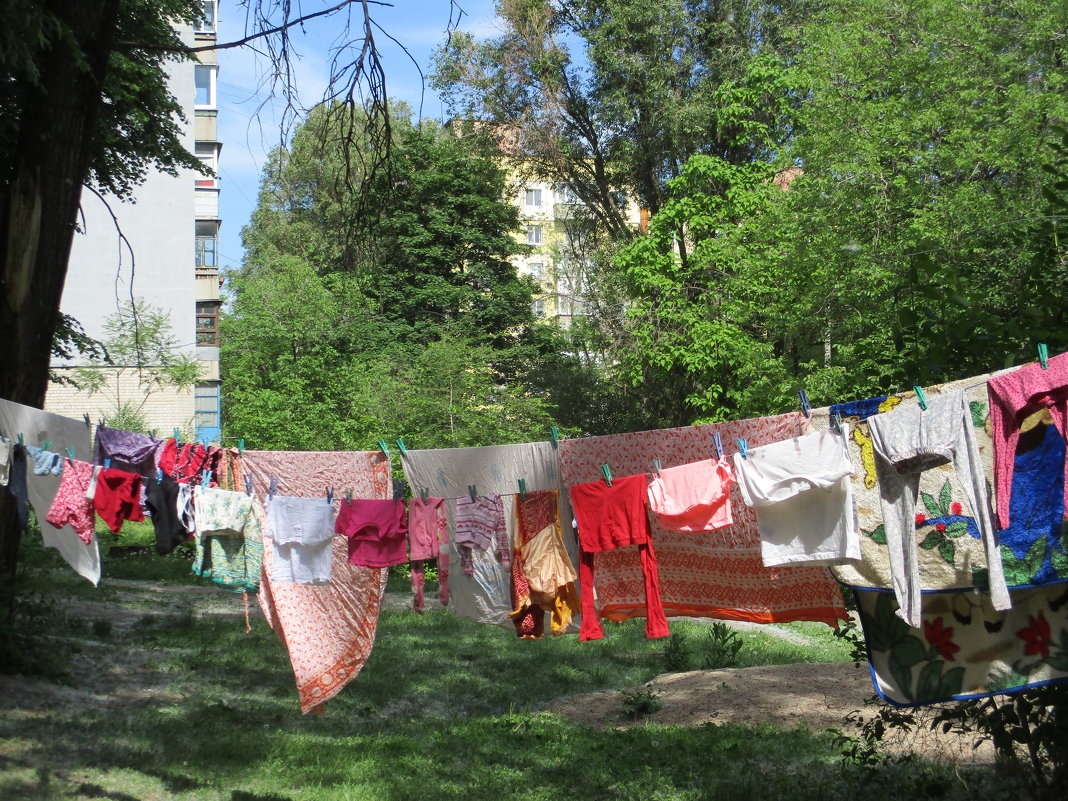 В наше время стирает не тот, кто загружает белье в машину, а тот, кто его развешивает! - Алекс Аро Аро