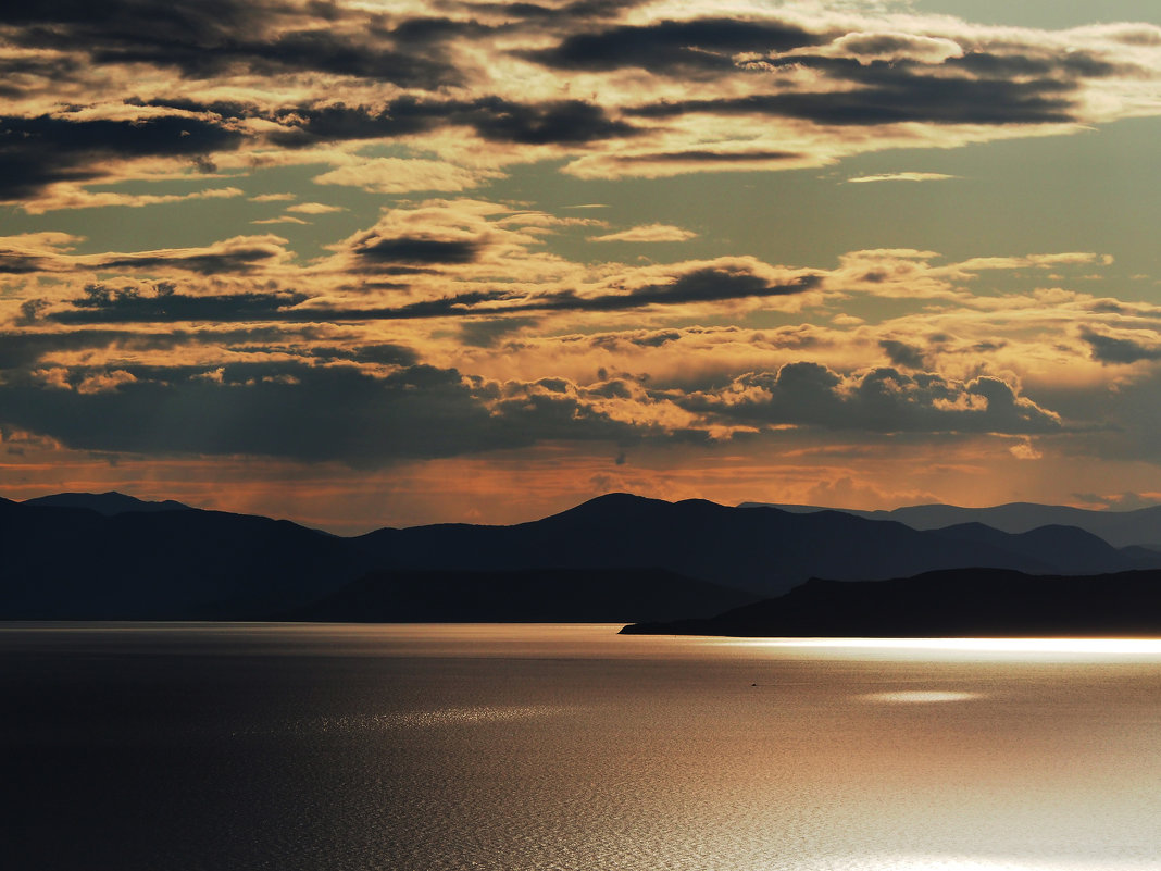 Закат на Амурском заливе - Ирина Червинская