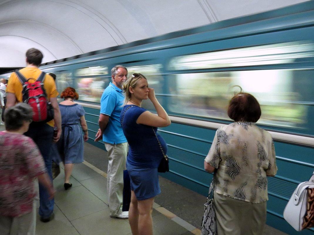 В метро - Андрей