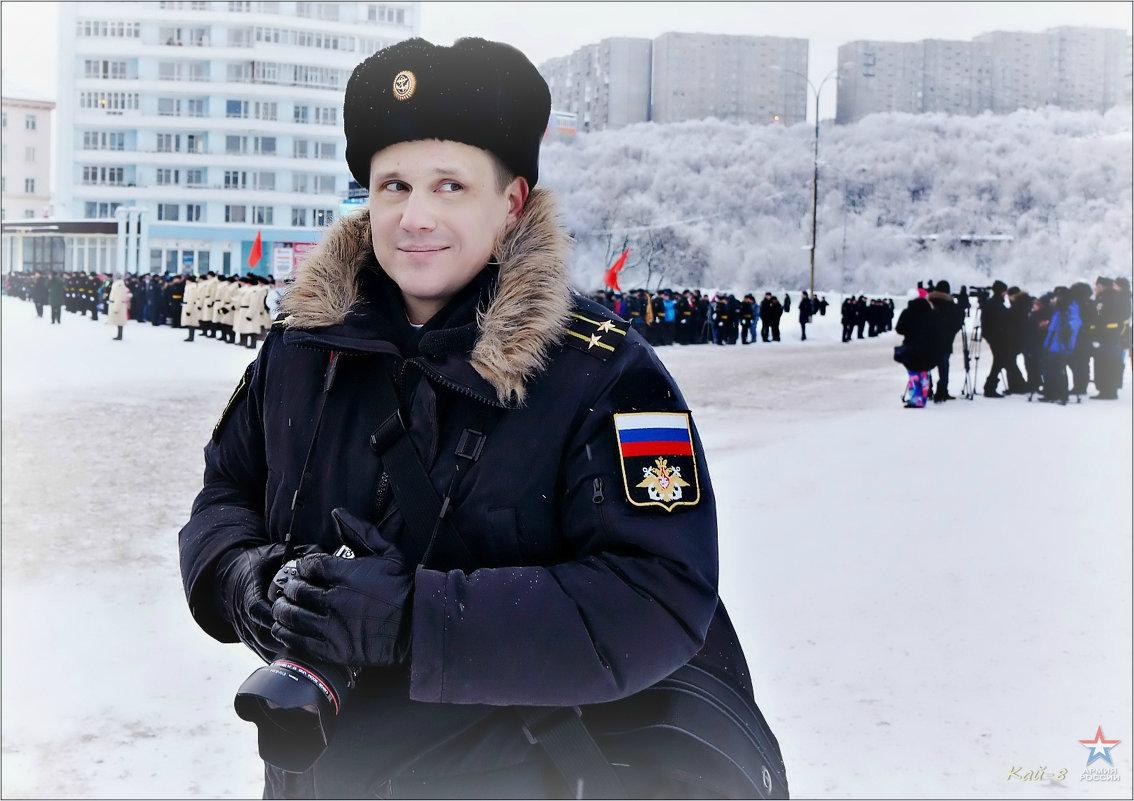 Портрет военного журналиста - Кай-8 (Ярослав) Забелин