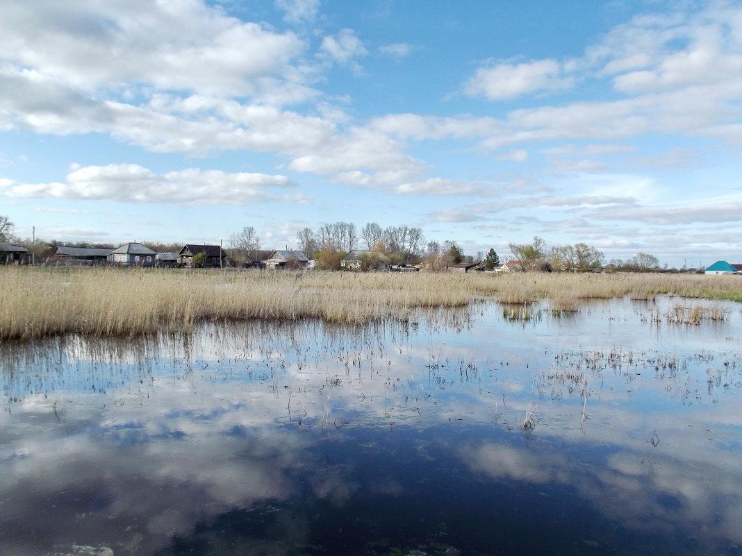 Разлив озера Рябовского - Светлана Рябова-Шатунова
