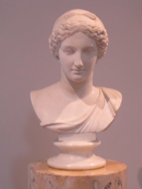 Царицыно. Античная женская голова с повязкой - Дмитрий Никитин