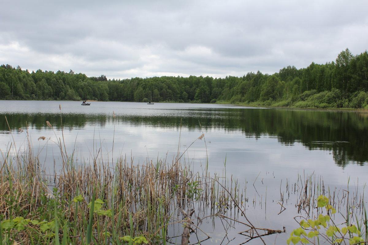 озеро и рыбаки - Светлана Рябова