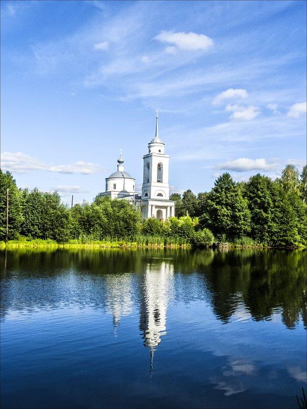 Храм в Заскочихе - Валентина *