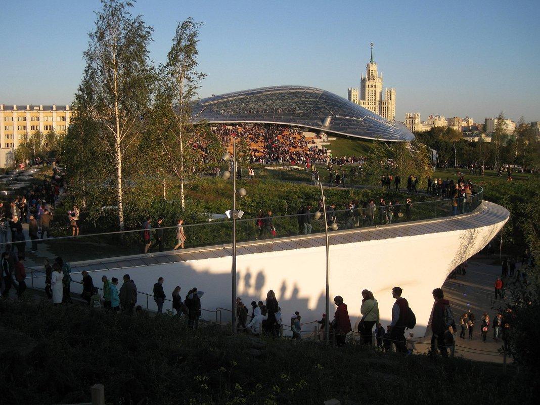Парк Зарядье.Москва - Валентина Лепина